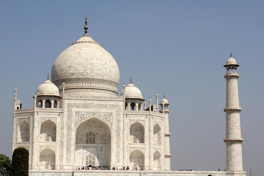 Taj mahal 6 by firenze design on deviantart for Taj mahal exterior design