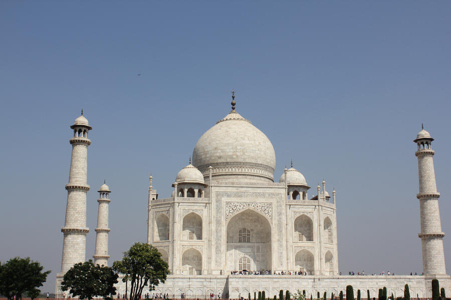 Taj mahal 7 by firenze design on deviantart for Taj mahal exterior design