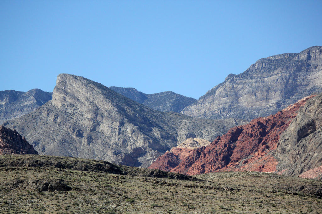 Red Rock Canyon Stock 4 by firenze-design