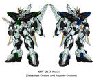 MVF-M11X Arashi Gundams