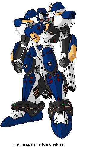 "FX-004SB ""Dixen Mk.II"" by SPARTAN-251"