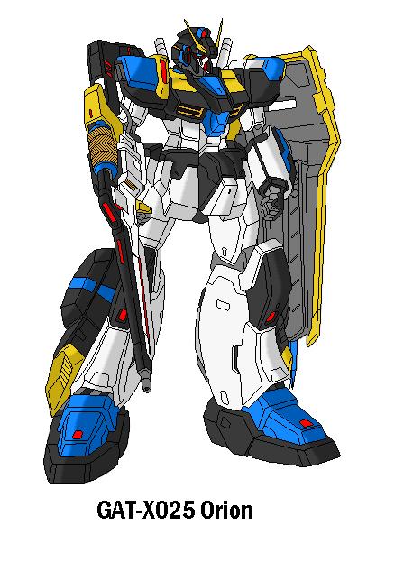 GAT-X025 Orion Gundam by SPARTAN-251