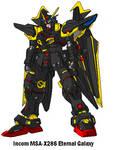 MSA-X286 Eternal Galaxy Gundam