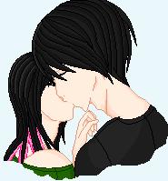 Kawaii couple by StuddsAndStars