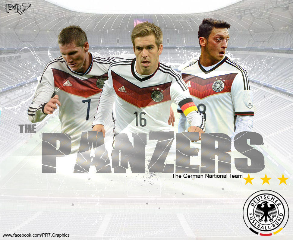 Germany National Team By PR7-Graphics On