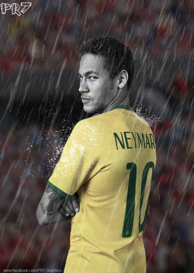 Neymar Jr By PR7 Graphics