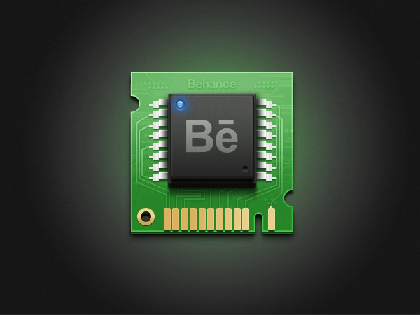 Behance-chip by iftikhar110