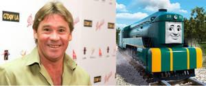 Steve Irwin as Shane the Australian Engine