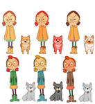 Animation project Bus Stop | Character Design