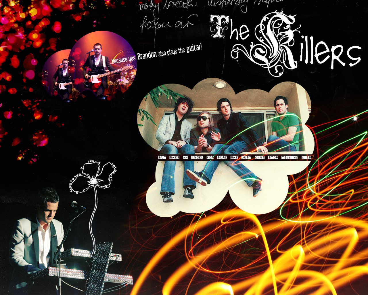 The Killers Wallpaper V2 by ~SlivErJap on deviantART