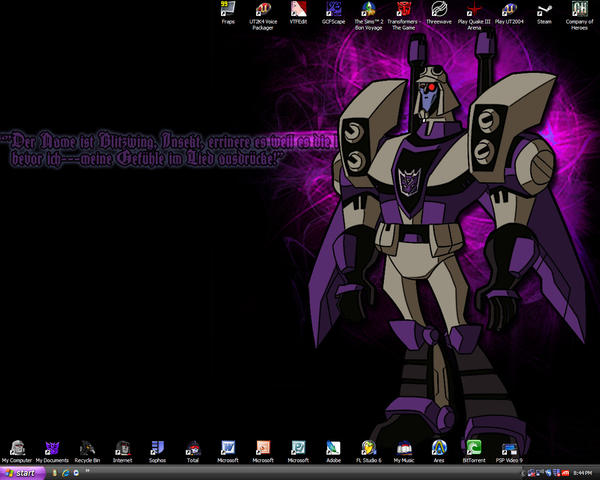 Desktop Update by DJ-MegaTron