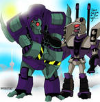 Lugnut and Blitzwing