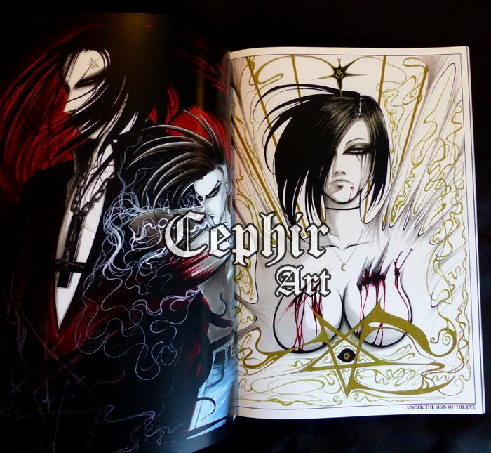 Artbook Mysterium by Cephir-Art