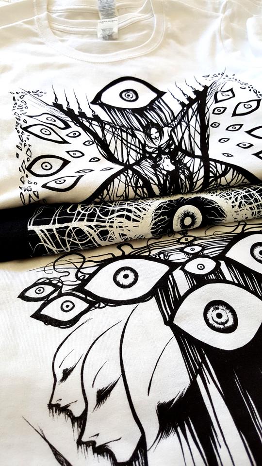 Cephir Art T-shirts by Cephir-Art