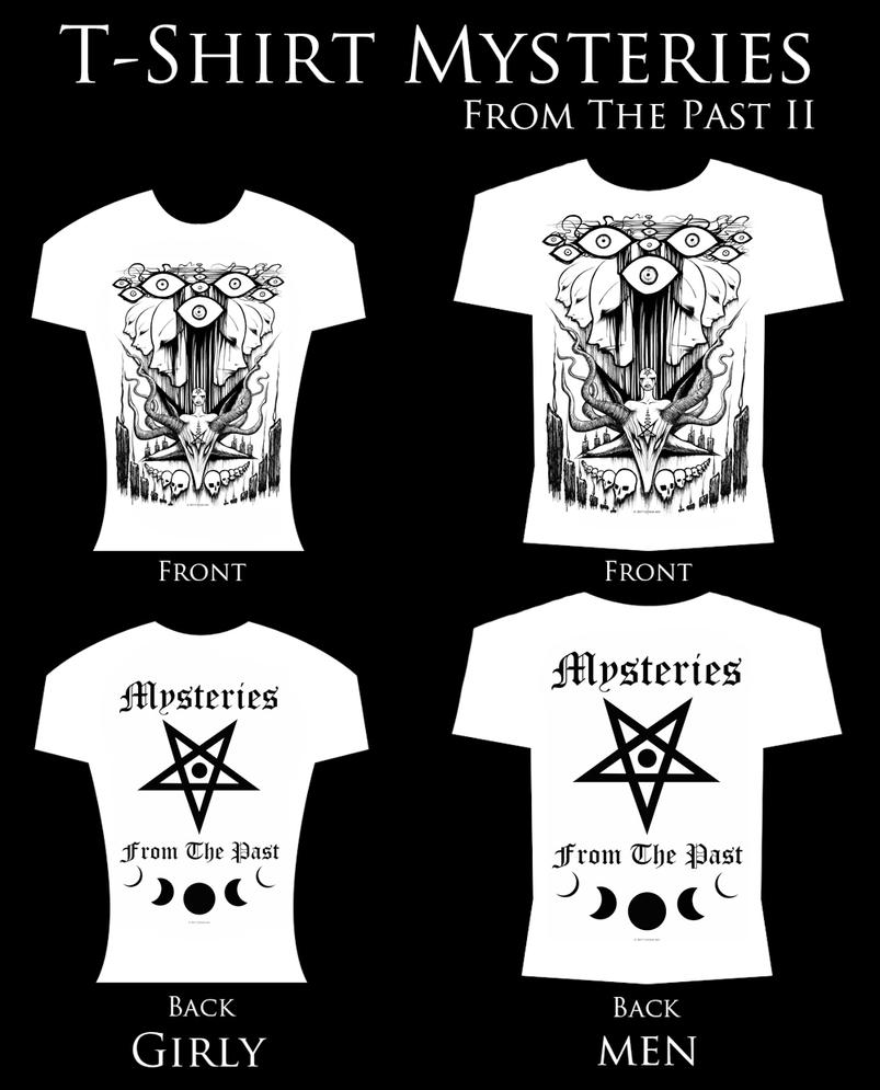 T-shirt Mysteries from the past II by Cephir-Art