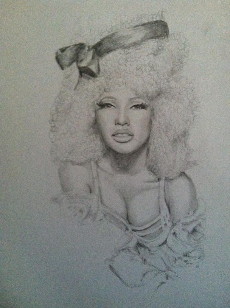 Nicki minaj by clareherbert on deviantart nicki minaj by clareherbert voltagebd Image collections