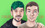 Jacksepticeye - Then and Now - 13 Million Subs