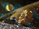 Asteroid Belts Are Garbage Dumps