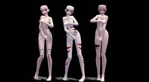 [ MMD ] TDA Base Texture [ DL ] by 2p-Italy-Veneziano