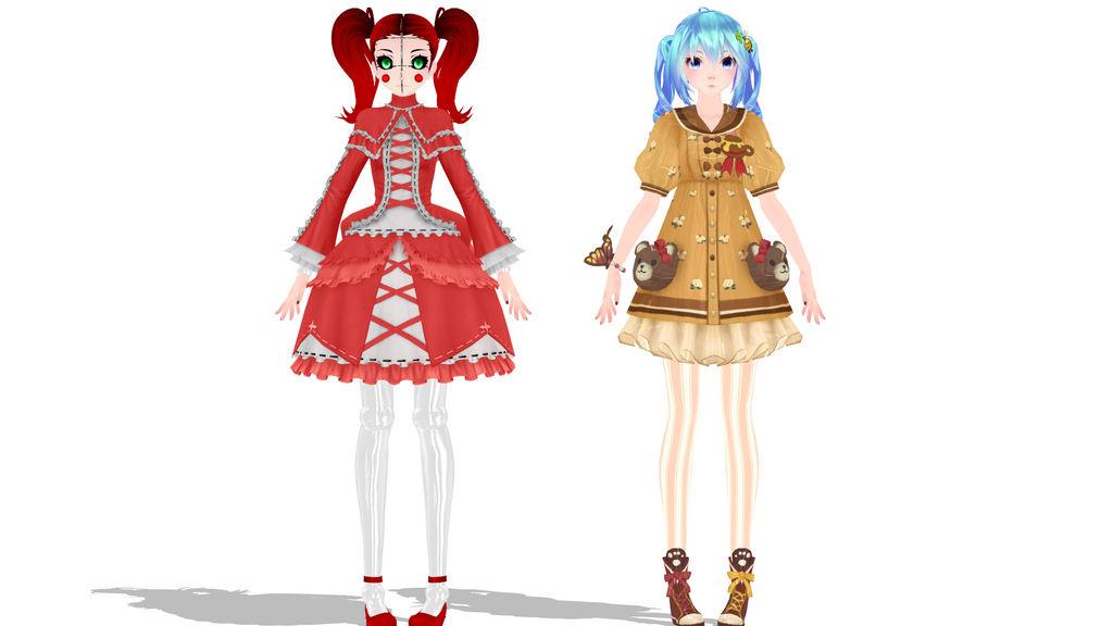 MMD Nero Akita Swimsuit DL by donamorteboo on DeviantArt