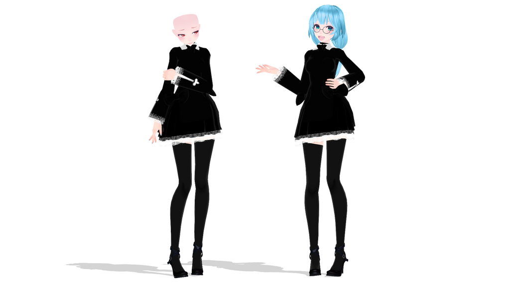 [ MMD ] TDA Black Dress [ DL Open ] By 2p-Italy-Veneziano