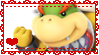 Bowser Jr. Stamp by Misses-Weasley
