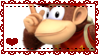 Diddy Kong Stamp by Misses-Weasley