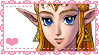 OoT Zelda Stamp by Cicadaem0n