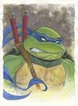 Leonardo watercolor