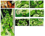 TMNT SKETCH CARDS on Ebay