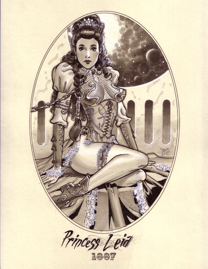 Princess Leia Steam Punk