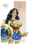Wonder Woman color