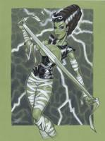 Bride of Frankenstein by MichaelDooney