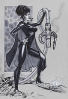 Nightgirl Legion commish by MichaelDooney