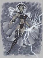 Storm X Men by MichaelDooney