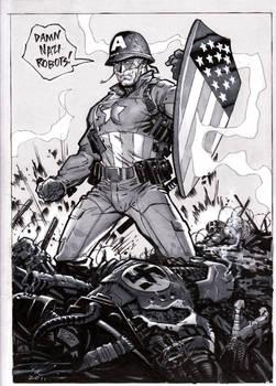 It's Captain America day 1