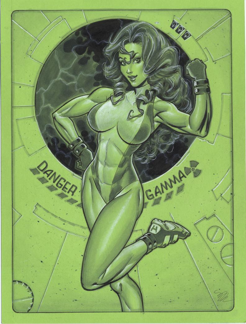 She Hulk by MichaelDooney
