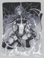 Batgirls 2 Huntress by MichaelDooney