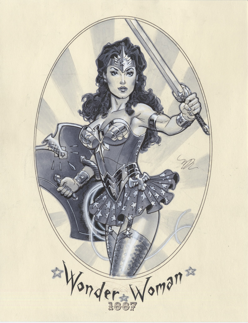 Wonder Woman 1887 by MichaelDooney