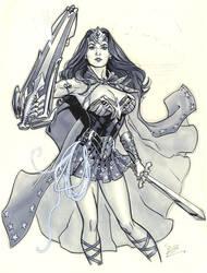 wonder woman for Megacon by MichaelDooney