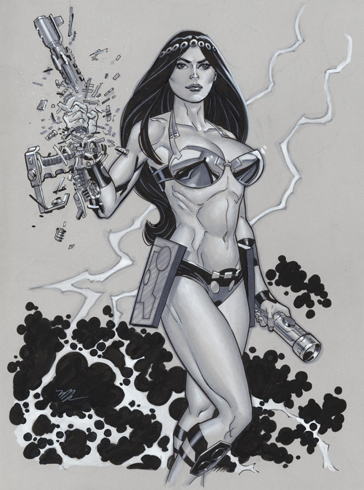 Big Barda by MichaelDooney