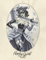 Harley Quinn 1887 by MichaelDooney