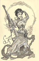 Lady Mechanika by MichaelDooney