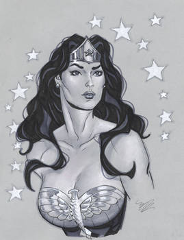 Another Wonder Woman bust