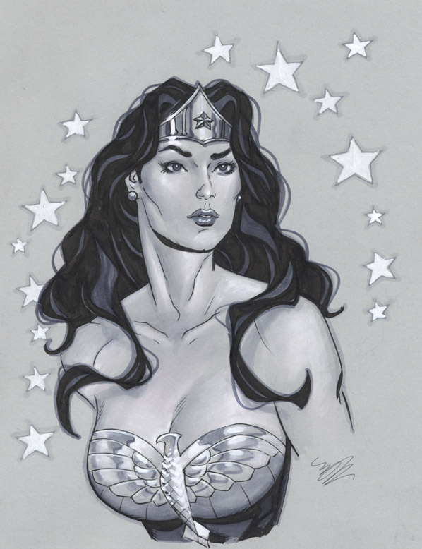 Another Wonder Woman bust by MichaelDooney