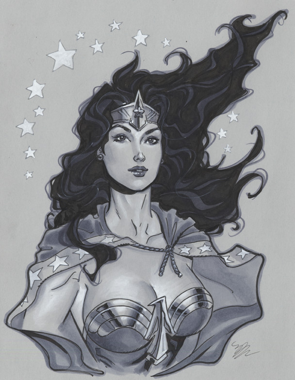 Wonder Woman bust by MichaelDooney