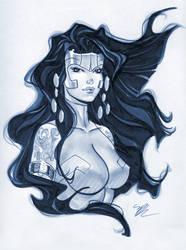 Voodoo bust by MichaelDooney