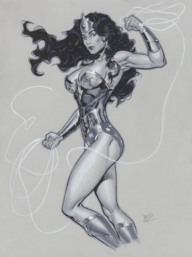 Wonder Woman Classic by MichaelDooney