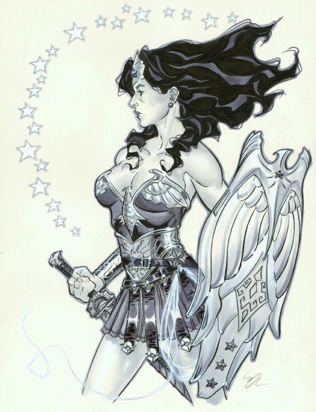 Wonder Woman Warrior by MichaelDooney
