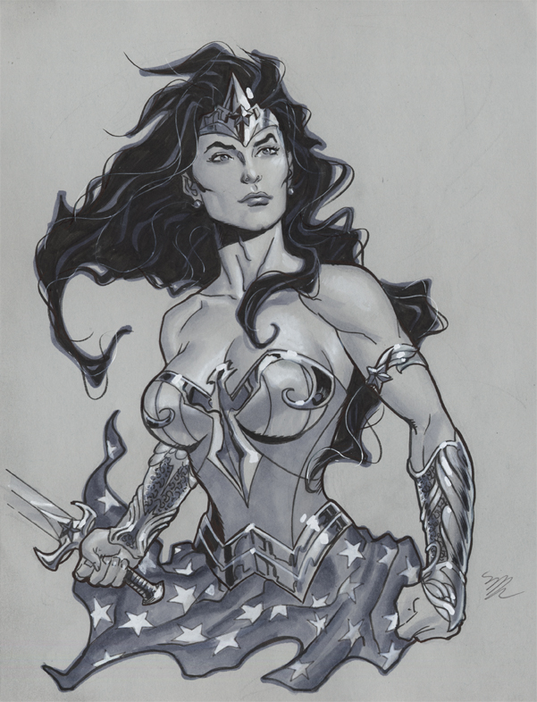 Wonder Woman is going to Megacon by MichaelDooney
